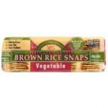 [Edward & Sons] Brown Rice Snaps Vegetable  At least 70% Organic