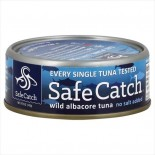 [Safe Catch] Tested for Mercury Wild Albacore Tuna, NSA