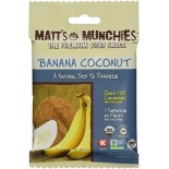 [Matt`S Munchies] Premium Fruit Snack Banana Coconut  At least 95% Organic