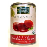 [Grown Right]  Cranberry Sauce, Jellied  At least 95% Organic