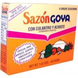 [Goya] Hispanic-Carribean Canned Goods Sazon Cilantro & Achiote