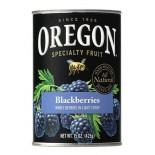 [Oregon Fruit] Canned Fruit Blackberries in Light Syrup