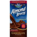 [Almond Breeze] Almond Milk, Non Dairy Beverage Chocolate, Unsweetened