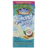 [Almond Breeze] Almond Milk, Non Dairy Beverage Coconut, Unsweetened Vanilla