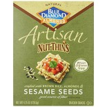 [Blue Diamond] Cracker/Bread Specialty Crackers Artisan, Sesame Seed