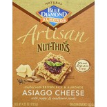 [Blue Diamond] Cracker/Bread Specialty Crackers Artisan, Asiago Cheese & Seed
