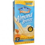 [Almond Breeze] Almond Milk, Non Dairy Beverage Hint of Honey Vanilla