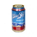 [Blue Sky] All Natural Sodas, 12 Ounce Cans Black Cherry