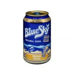 [Blue Sky] All Natural Sodas, 12 Ounce Cans Cream, Private Reserve