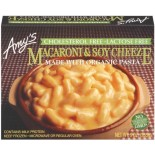 [Amy`S] Entrees Macaroni & Soy Cheeze  At least 70% Organic