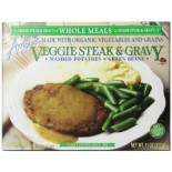 [Amy`S] Whole Meals Veggie Steak & Gravy  At least 70% Organic