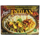 [Amy`S] Indian Meals Mattar Paneer  At least 70% Organic