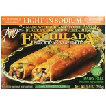 [Amy`S] Entrees Enchiladas, Blk Bean Vegetable LS  At least 70% Organic
