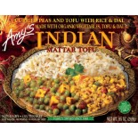 [Amy`S] Indian Meals Mattar Tofu  At least 70% Organic