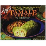 [Amy`S] Whole Meals Whl Meal Tamales, Cheese Verde  At least 70% Organic