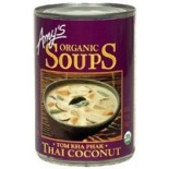 [Amy`S] Soups Thai Coconut  At least 95% Organic
