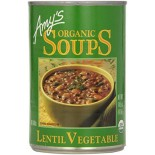 [Amy`S] Soups Lentil Vegetable  At least 95% Organic