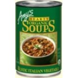 [Amy`S] Soups Hearty Rustic Italian Vegetable  At least 95% Organic