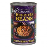 [Amy`S] Beans Refried Pintos w/Green Chiles  At least 95% Organic