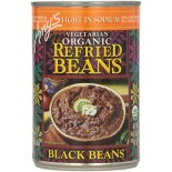 [Amy`S] Beans Refried Black, Low Sodium  At least 95% Organic