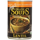 [Amy`S] Soups Lentil, LS  At least 95% Organic