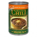 [Amy`S] Chili`s Medium, Low Sodium  At least 95% Organic