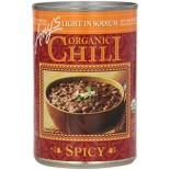 [Amy`S] Chili`s Spicy, Low Sodium  At least 95% Organic