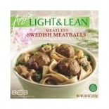[Amy`S] Light & Lean Swedish Meatless Meatballs Bowl  At least 70% Organic