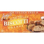[Amy`S] Cookies Biscotti, Orange, GF  At least 70% Organic