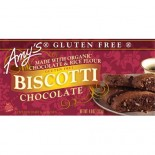 [Amy`S] Cookies Biscotti, Chocolate, GF  At least 70% Organic
