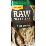 [Better Oats] Raw, Pure & Simple Steel Cut Oats  At least 95% Organic
