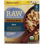 [Better Oats] Raw, Pure & Simple Bare, 8 Pouches  At least 95% Organic