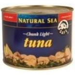 [Natural Sea] Tuna, No Threat to Dolphins Yellowfin, Chunk Light, No Salt