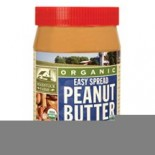 [Woodstock] PET Peanut Butters Easy Spread, Crunchy, Salted  At least 95% Organic