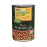 [Field Day] Canned Beans Pinto  At least 95% Organic
