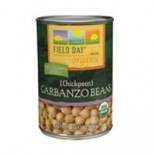 [Field Day] Canned Beans Garbanzo  At least 95% Organic