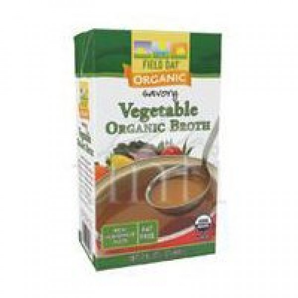 [Field Day] Broths Savory Vegetable  At least 95% Organic