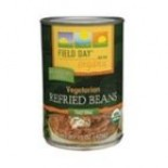 [Field Day] Canned Beans Vegetarian, Refried  At least 95% Organic