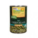 [Field Day] Canned Veggies Green Beans, Cut  At least 95% Organic