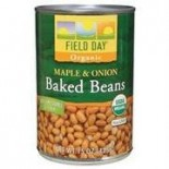 [Field Day] Canned Beans Baked, Beans w/Maple & Onion  At least 95% Organic