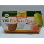 [Field Day] Fruit Cups Diced Peaches & Pears  At least 95% Organic