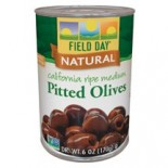 [Field Day] Canned Olives Non-Ferrous Black Medium Ripe