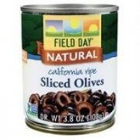 [Field Day] Canned Olives Non-Ferrous Black Sliced