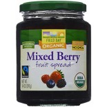 [Field Day] Fruit Spreads Mixed Berry  At least 95% Organic