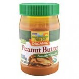 [Field Day] Peanut Butter Smooth, Unsalted  At least 95% Organic