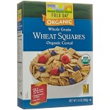 [Field Day] Cereal/Cereal Bars Wheat Squares, WG  At least 95% Organic