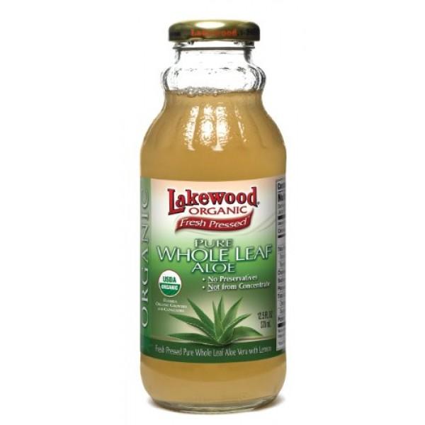 [Lakewood] Aloe Products Whole Leaf Aloe  At least 95% Organic