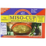 [Edward & Sons] Miso Cups Reduced Sodium  At least 70% Organic