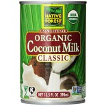 [Native Forest]  Coconut Milk  At least 95% Organic