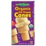 [Let`S Do...Organic]  Ice Cream Cones (12ct)  At least 95% Organic